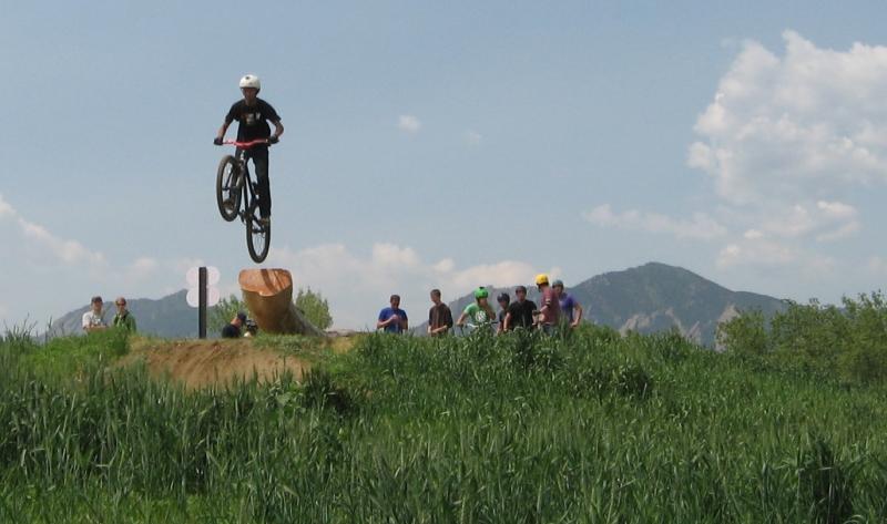 mountain bike park boulder