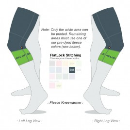 knee warmers fleece